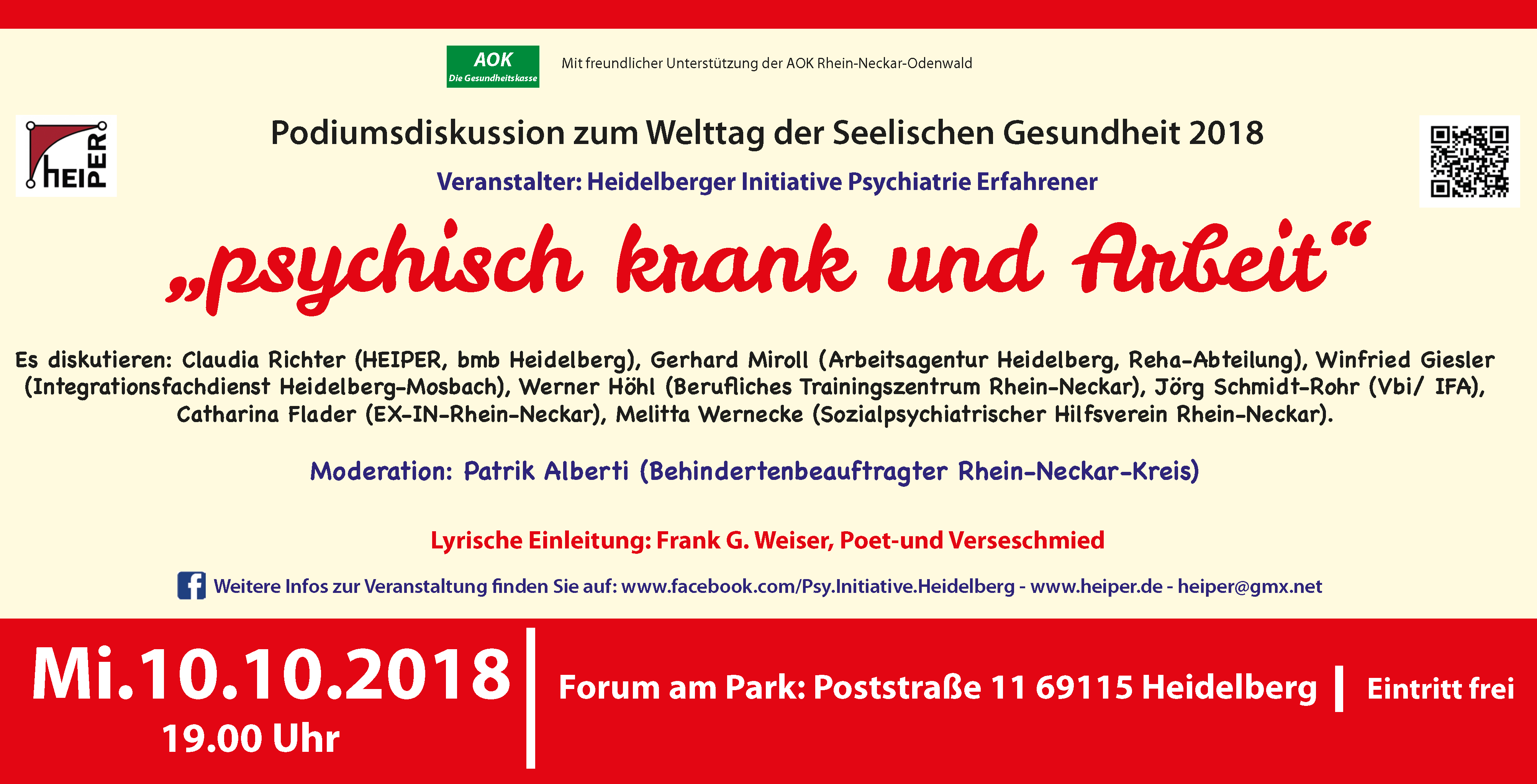 Pressetext Podiumsdiskussion 2018 10 10 Flyer
